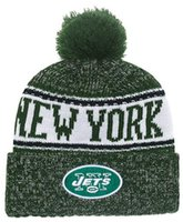2eae518627d Wholesale cold weather hats online - Winter Hat New York Beanie stripes Sideline  Cold Weather Sport