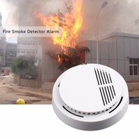 Wholesale Office Alarm - 1 Pc Fire Smoke Sensor Detector Alarm Tester 85dB Home Security System for Family Guard Office building Restaurant
