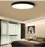 Wholesale rc lamp - RC Dimmable UltraThin 5cm Led Ceiling Lamp living room Lamp Modern Simple bedroom dining room round acrylic Ceiling Lights Plafondlamp