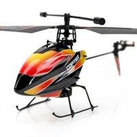 helicóptero de control remoto rtf al por mayor-4CH 2.4Ghz V911 RC Helicóptero 23cm Radio Remote Control RTF sola hélice LCD Display Gyro