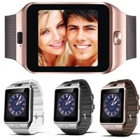 Wholesale Wristband For Mobile Phone - DZ09 Smart Watch Dz09 Watches Wristband Android Watch Smart SIM Intelligent Mobile Phone Sleep State Smart watch Retail Package
