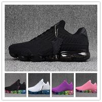Wholesale Tpu Sports Shoes - Drop Shipping Vapormax TPU Running Shoes 2018 Men Casual Air Cushion Women Boost Athletic Sneakers Outdoor Jogging Hiking Sport Shoes 36-46