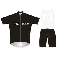 Wholesale Brand Pro Team Cycling Jersey Set Football Mesh Short Sleeve Bicycle Clothing D Gel Pad Bikes Clothes Maillot Ciclismo PT NAME