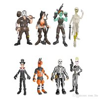 Wholesale fortnite toys resale online - 8 Style Fortnite Plastic Doll toys New kids cm Cartoon game fortnite llama skeleton role Figure Toy B