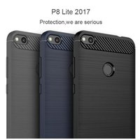 Wholesale cases for iphone 5c for sale – best Luxury Soft Carbon Silicon Cases for Huawei P8 P9 P10 lite Case for Huawei Honor X C Case for Huawei Honor P8 lite Case