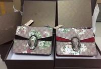 Wholesale fashion hobo bags - 2017 New Designer Handbags snake leather embossed fashion Women bag chain Crossbody Bag Brand Designer Messenger Bag sac a main