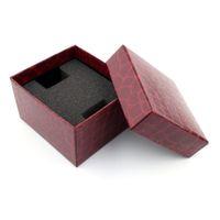 bilezik kutusu kutusu toptan satış-1 adet Kırmızı Timsah Için Dayanıklı Mevcut Hediye Kutusu Durumda Bilezik Bileklik Takı İzle Kutusu Saatler Aksesuarları İzle Kutuları 11.21