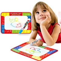 Wholesale Aqua Board - Water Drawing Painting Writing Toys Doodle aqua magnetic drawing board Play Mat Magic Pen Model Drawing tools
