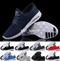 качественная кроссовка для мужчин оптовых-Мода nike SB Stefan Janoski обувь кроссовки для женщин мужчины, высокое качество спортивные тренеры кроссовки размер обуви Eur 36-45 Бесплатная доставка