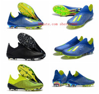 Wholesale tangos shoes for sale - 2018 mens soccer cleats Ace Purechaos FG soccer shoes X Purechaos FG football boots high ankle X ACE Tango PureControl