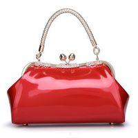 ladies spring handbags 2018 - Women Bag Fashion Luxury Brand 2017 Spring Summer Solid bag Ladies Leather Brides Women Diamond Handbag Wedding High Quality Red