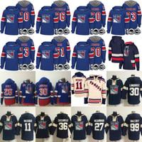 Wholesale ranger patches - New York Rangers Hoodies 100th Patch 11 Mark Messier 20 Chris Kreider 30 Henrik Lundqvist 36 Mats Zuccarello 61 Rick Nash 93 Mika Zibanejad