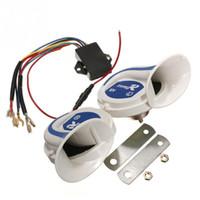 Wholesale Loud Car Alarm Horn - Loud Horn Auto Speaker Alarm 2V 150db Tone Vehicle Boat Car Motor Motorcycle Van Truck Siren