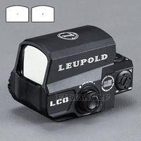 пистолет-точка оптовых-LEUPOLD LCO Модернизированная прицел Red Dot Sight Прицелы с голографическим прицелом Подходит для любого 20-миллиметрового рельса Airsoft Gun
