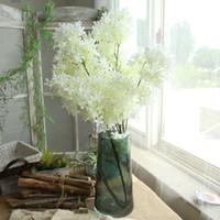 ingrosso fiore orientale-Artificiale fiore di ciliegio viti simulazione orientale casa matrimonio giardino festa negozio Decor lussuoso ciliegio finto flores