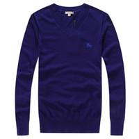 вязаные стежки оптовых-Jinmei высокое качество мужчины Марка мода свитер с длинным рукавом вязать Локоть утолщение дизайнер высокое качество площади шить свитера