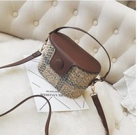 Wholesale spring tote handbags - spring tide bag C1966 Bag Mini type handbag shoulder diagonal all-match female