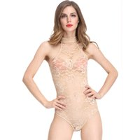 Wholesale Ladies Animal Print Jumpsuits - Sexy Women Lace Shaperwear Lingerie Romper Sexy Lady Jumpsuit Bodysuit Hot Teddies Erotica Fancy Underwear Body Shaper Intimate