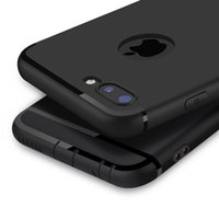 i6 artı kutular elma toptan satış-Sıcak Kılıf iphone xs max X xr 7 8 Artı / 6 6 S / Artı Yumuşak TPU Silikon Mat Geri Jel Kapak Apple iphone 7 6 6 S Artı i6 i7 Aksesuarları