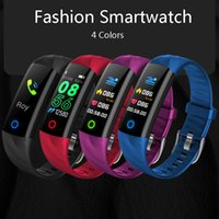 Wholesale top fitness bands for sale - Group buy Top Sport Smart Band Wristband Bracelet IP68 Waterproof Color Screen Heart Rate Blood Pressure Pedometer Fitness Activity Tracker pk fitbit