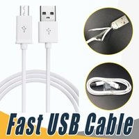 Wholesale Iphone Data Cords - 1m 1.5m High Speed Micro USB Charging Cable Type C Data Cord Cable For Android smarphone