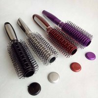 Wholesale plastic medical container - 9.8inch Hair Brush Stash Safe Diversion Secret storage boxs Security Hairbrush Hidden Valuables Hollow Container Pill Case 4 colors choose