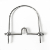 Wholesale sex toys couple flirting for sale - Stainless Steel U Type Mouth Gag Adjustable Slave Tongue Flail Bdsm Bondage Sex Toys For Couples Flirting Adult Sex Games