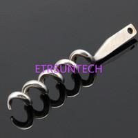 Stainless Steel Wine Opener Part With Countersunk Holes Metal Screw Corkscrew Wine Bottle Opener Insert Parts QW7920