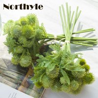 Wholesale Wholesale Greenery - artificial greenery 9pcs   bouquet wedding decoration artificial plants diy home decoration
