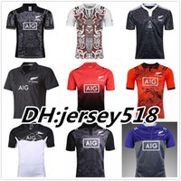 Wholesale men shirt red xxl - best quality New Zealand All Blacks Rugby Jersey Shirt 17-18 Season, All Blacks Mens Rugby Football Jersey 2016 2017 Size S-XXXL