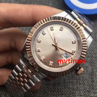 Wholesale Men Complete Designer - Luxury Mens Watch Brand Automatic Mechanical WristWatch Rose Gold DIAMOND Designer For Men Roles Datejust Watches Reloj Fashion