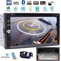 Wholesale multimedia audio video player - Car Audio Double 2Din Stereo Radio Multimedia Headunit 3 UI optional 7'' Touchscreen Bluetooth car DVD CD USB SD AM FM MP3