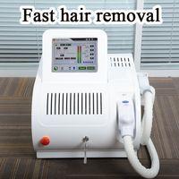 Wholesale hair remove face resale online - opt shr permanent hair removal machine ipl shr e light ipl skin rejuvenation treatment shr epil laser hair remove
