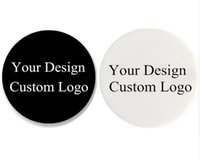 Wholesale pictures logos - 20 pieces lot popular business logo Customized Your Own Picture On Expanding Phone Stand Grip blue package