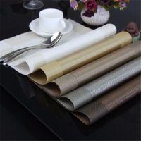disque de tapis de pvc achat en gros de-Tapis de table en PVC Tapis de table lavable Tapis de table en PVC résistant aux taches Couvercle de cuvette à disque Couvercle en PVC antidérapant