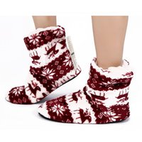 Wholesale animal slippers soft for sale - 2018 Winter Shoes Woman Home Slippers Girls Christmas Indoor Shoes Warm Contton Slipper Plush Soft New Arrival