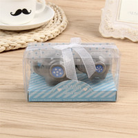 Wholesale salt pepper shaker giveaways for sale - Group buy Mommy and Me Little Peanut Elephant ceramic Salt and Pepper Shaker Wedding Favor Baby shower favor Romantic Giveaway Present with Gift box