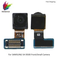 s4 parts Australia - 5Pcs lot Rear Back Main Front Facing Camera Cable Original For Samsung Galaxy S4 i9500 S5 G900 Big Small Lens Camera Module Replace Parts