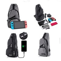 Wholesale Usb Switch Interface - Console bag with USB Charging Interface for Nintendo Switch Smart Phone Holder Backpack Crossbody Travel Bag For Console Joy-cons Accessory