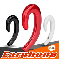Wholesale hands free cars iphone for sale - K8 wireless bluetooth headphones Business Earphone Car Hands free Mic Bone Conduction headset No Earplugs Earbuds For iphone Samsung package