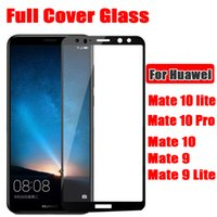 Wholesale Pro Mates - For Huawei Mate 10 PRO Mate10 Lite Mate 9 PRO MATE9 Full Cover Tempered Glass Phone Screen Protector Film DHL Free shipping