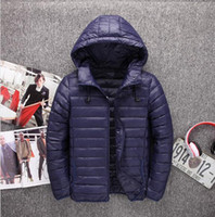 Wholesale 3xl North Face - 2017 winter North new slim thin cotton down jacket short paragraph large hooded face jacket