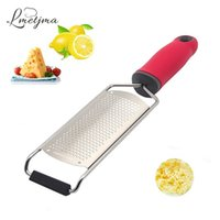 Wholesale cheese cover for sale - LMETJMA Cheese Grater Stainless Steel Blade For Cheese Slicer Lemon Zester Grater Chocolate Cheese Graters with Protective Cover
