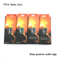 Wholesale TFV8 BABY coil TFV8 baby Beast Tank m2 Coils Head V8 Baby T8 ohm X4 ohm Q2 ohm Cores