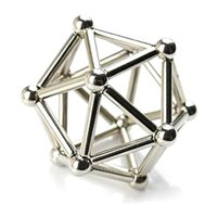 Wholesale bucky magnets for sale - Group buy Magnetic Construction Set DIY Magnet Sticks with Steel Balls Bucky Balls for Intelligence Development Toys