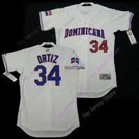 3303a918 Wholesale men size baseball jersey online - David Ortiz Dominican WBC World  Baseball Classic Jersey Home