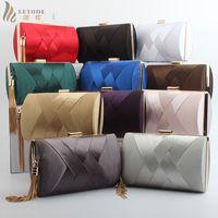 Fashion Womens Bags Wallet Clutch Evening Bag Luxury Handbags Banquet Wedding Pouch Party Shoulder & Crossbody Bags Purse Tassel Y18103003
