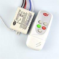 drahtloser wandschalter großhandel-2 Möglichkeiten Smart Digital Wireless Remote Switch AC110V AC220V Fernbedienung durch Wand für LED-Licht Lampe