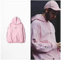 new york hoodies hommes achat en gros de-Sweat à capuche pour hommes Skateboard Lettre Imprimé Hoodies pour Hommes Oversetwear Streetwear Sweat Adolescent New York Rose Sweats À Capuche
