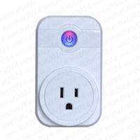 Wholesale Smart Home Switches - Smart Wifi Socket Plug Switch CN UK US EU Plug Remote Control Socket Outlet Timing Switch for Smart Home Automation